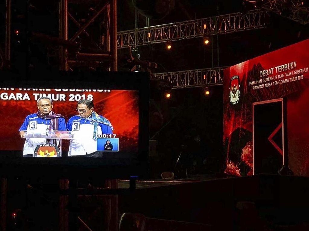 Begini Suasana Debat Kandidat Cagub NTT