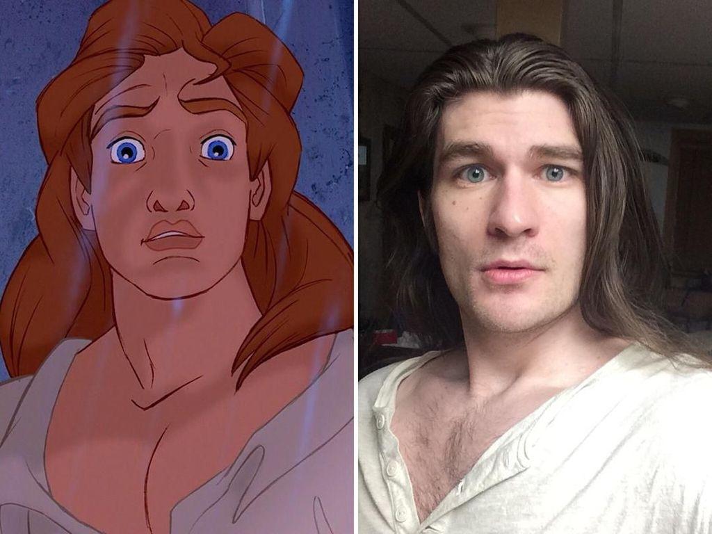 Turunkan Berat Badan, Model Pria Ini Jadi Mirip Pangeran Disney