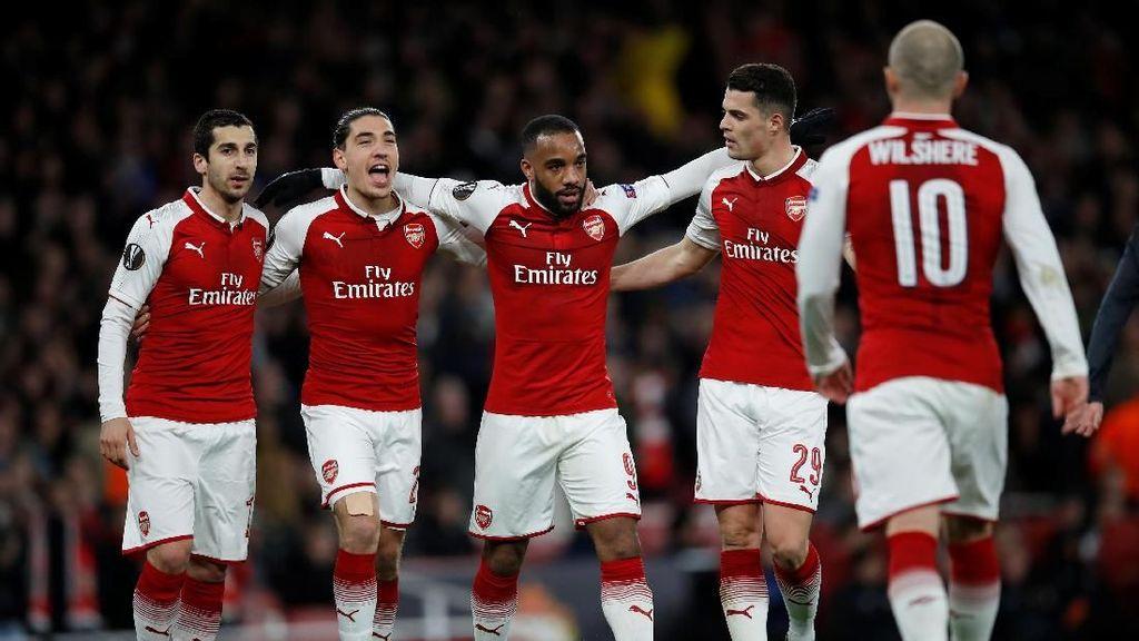 Foto: Arsenal Setengah Jalan ke Semifinal
