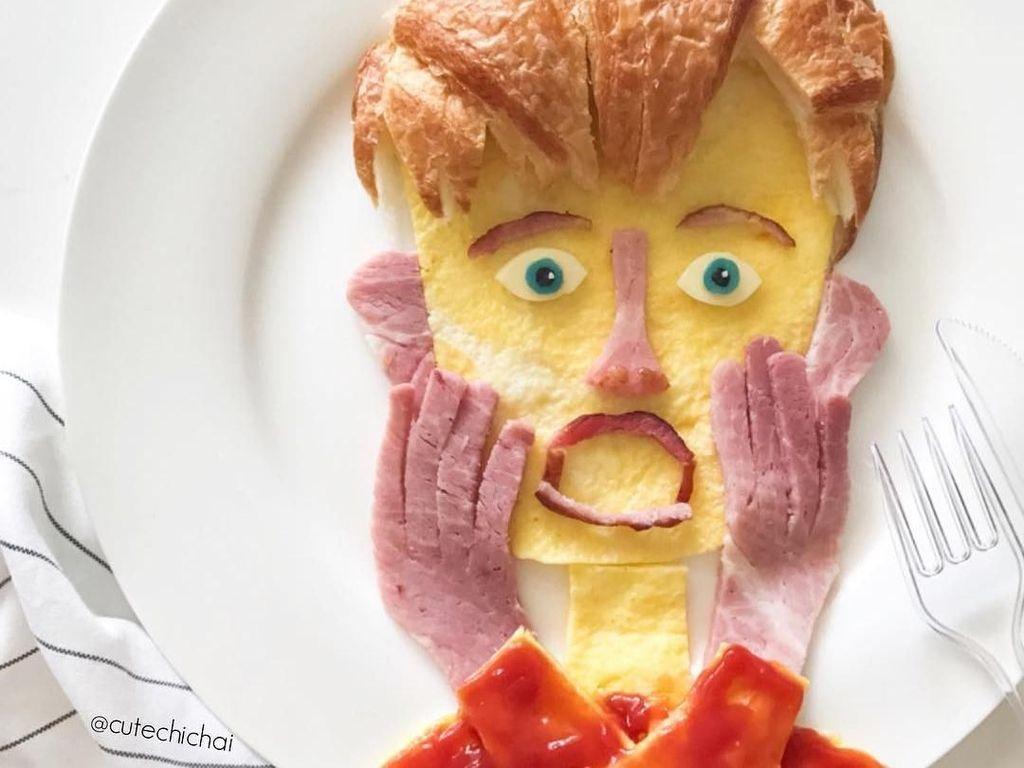 Ibu Ini Membuat Karya Seni Cantik dengan Media Roti untuk Anaknya