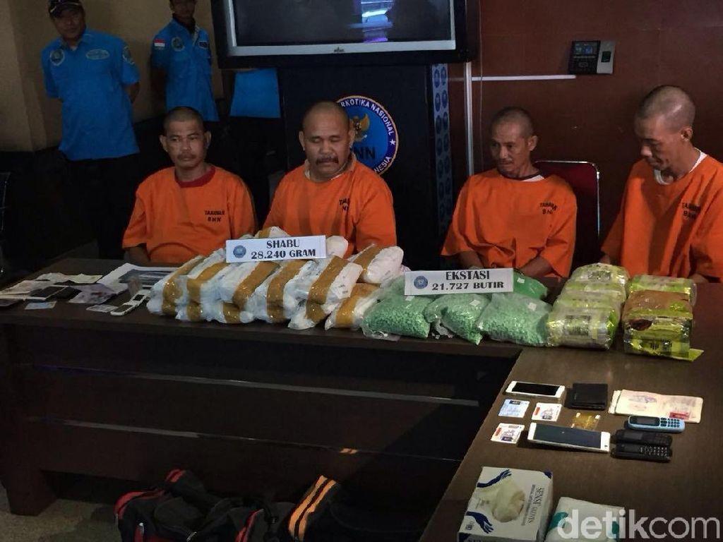 BNN: 4 Orang Kurir Narkoba di Kalbar Dibayar Rp 25 Juta per Kg