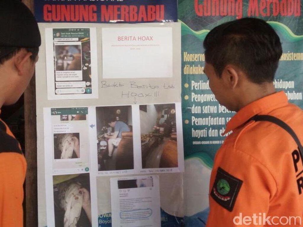 Pencarian WN Selandia Baru di Merbabu Diterpa HoaxSumbangan