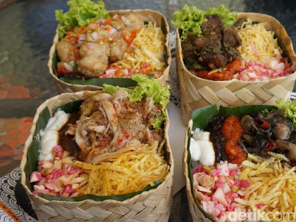 5 Rice Box Berlauk Ayam Tangkap hingga Cumi Hitam