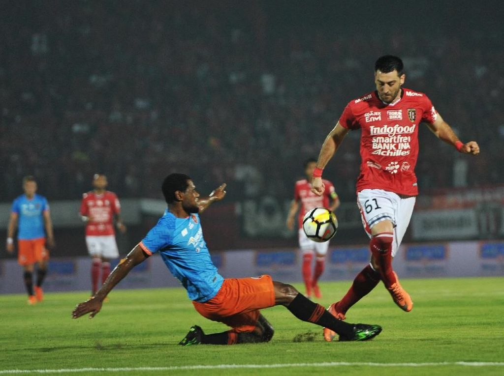 Sempat Memimpin, Bali United Ditahan Perseru