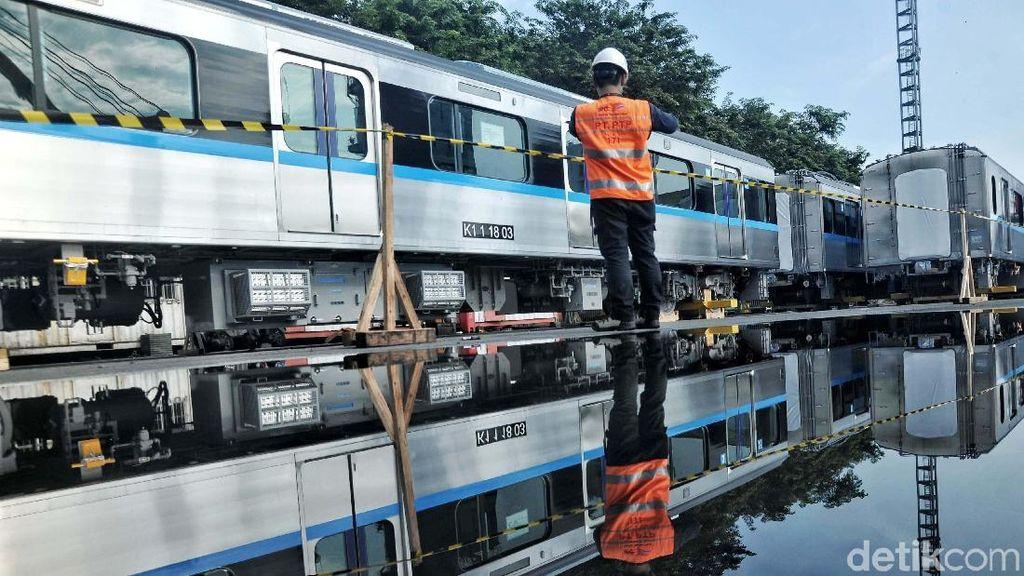 Kereta MRT Jakarta Diuji Coba Agustus 2018