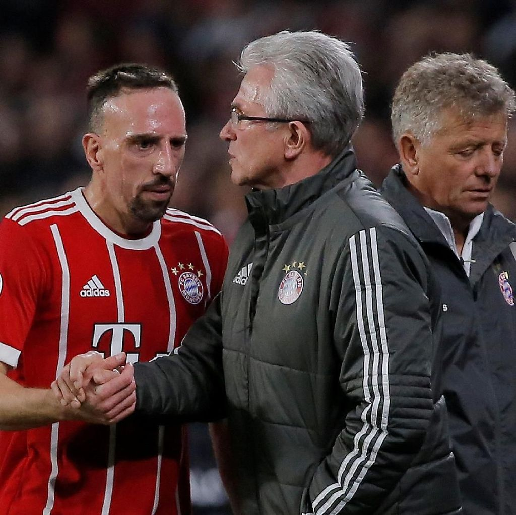 Heynckes: Gelar Juara Hadiah Terbaik untuk Ribery