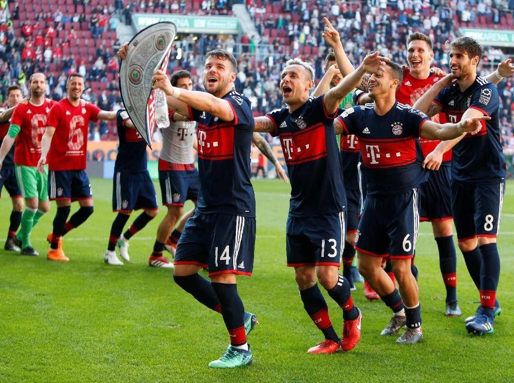 Bayern Rebut Gelar Juara Bundesliga Keenam Beruntun