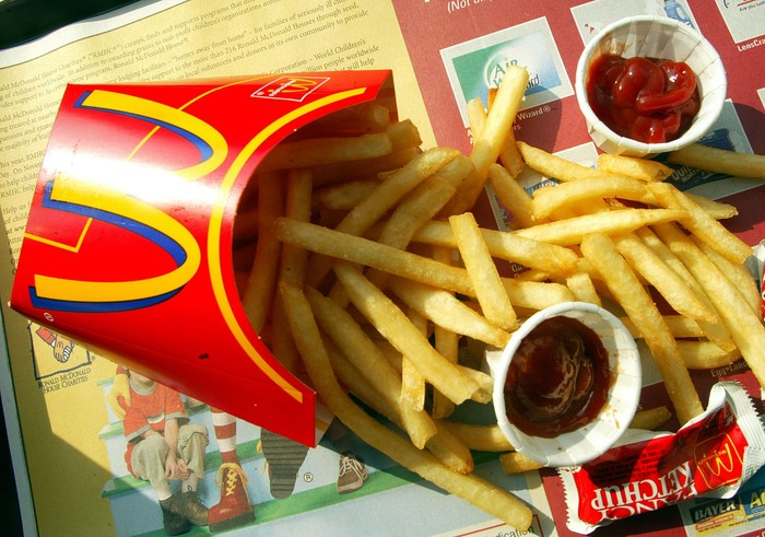 McDonald's Jepang Tulis Pesan Positif Untuk Tubuh Lewat Kentang Goreng