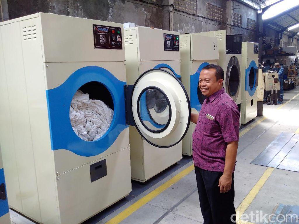 Warga Bantul Lulusan STM Ini Mampu Ciptakan Mesin Cuci Ber-SNI