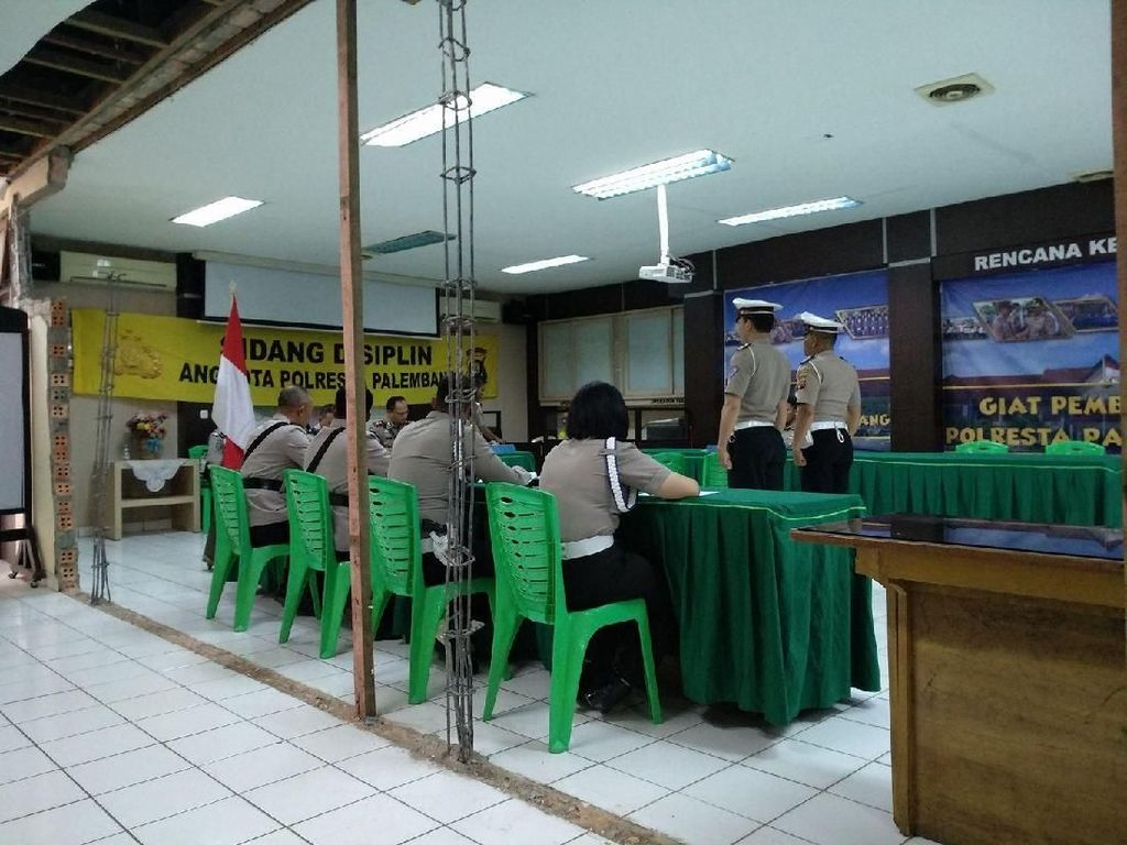 Polresta Palembang Periksa Intensif Mahasiswa Pemberi Suap ke Polantas