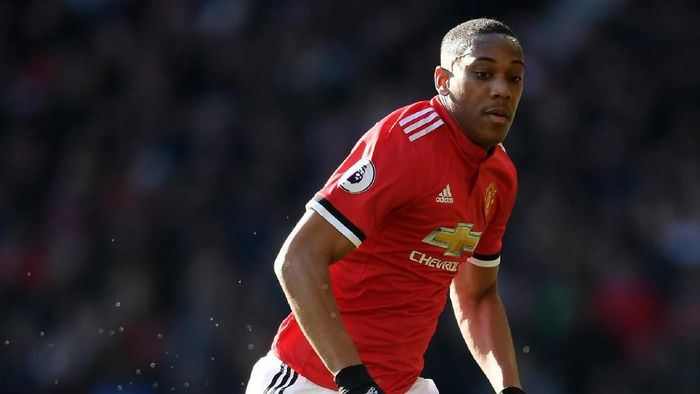 Anthony Martial ingin meninggalkan Manchester United. (Foto: Laurence Griffiths/Getty Images)