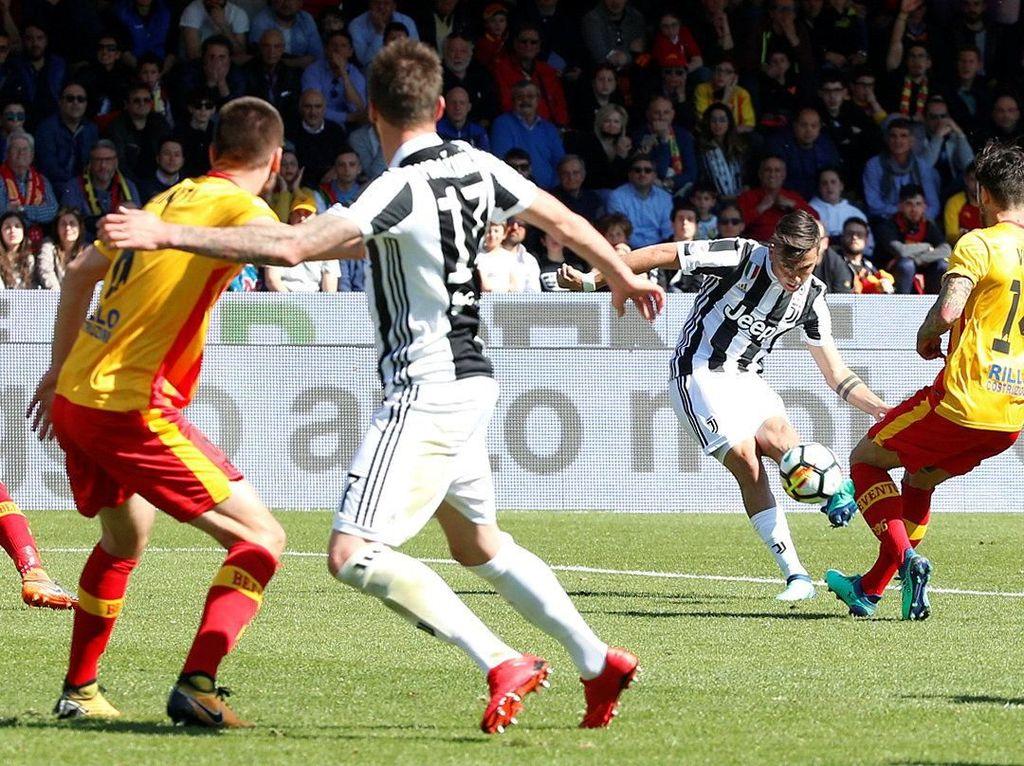 Tiga Gol Dybala Bantu Juve Kalahkan Benevento
