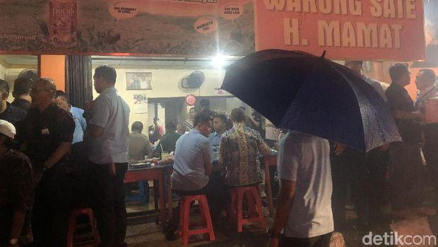 Warung sate kambing tempat Jokowi santap malam