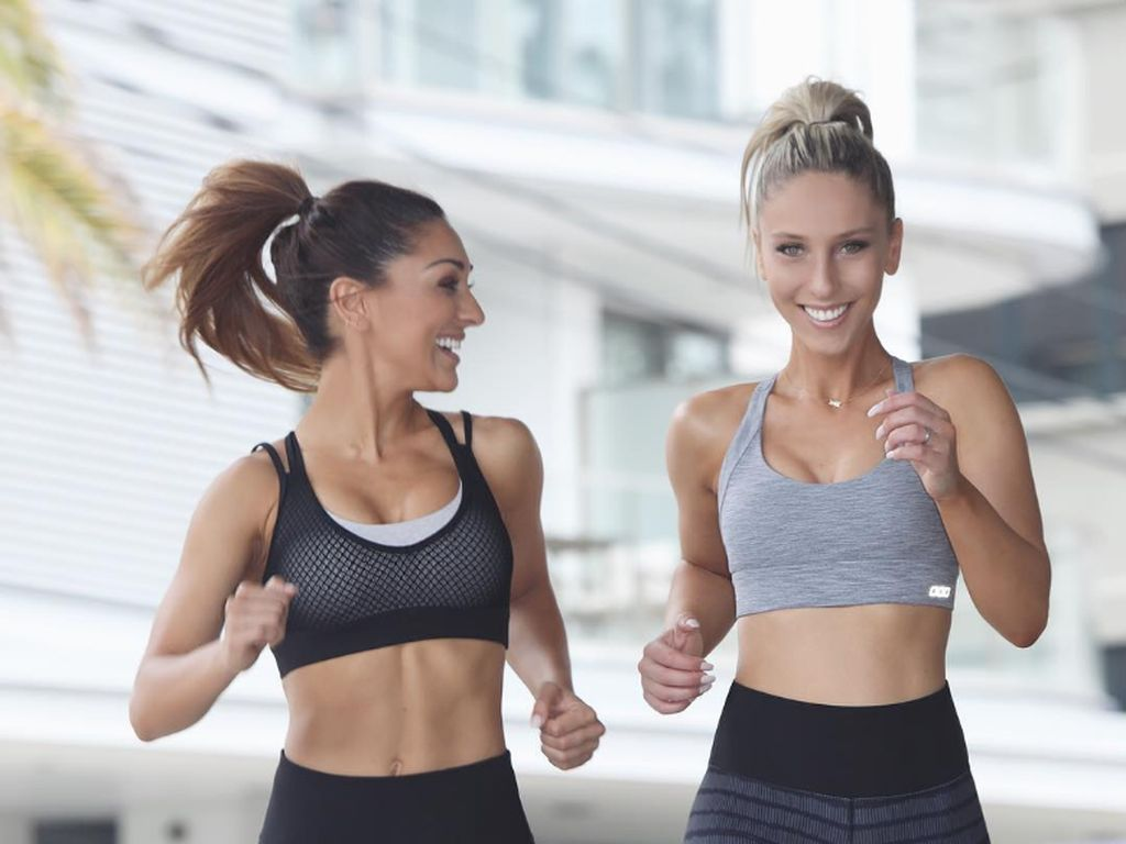 Base Body Babes, Kakak Beradik Pelatih Fitness yang Kompak Olahraga