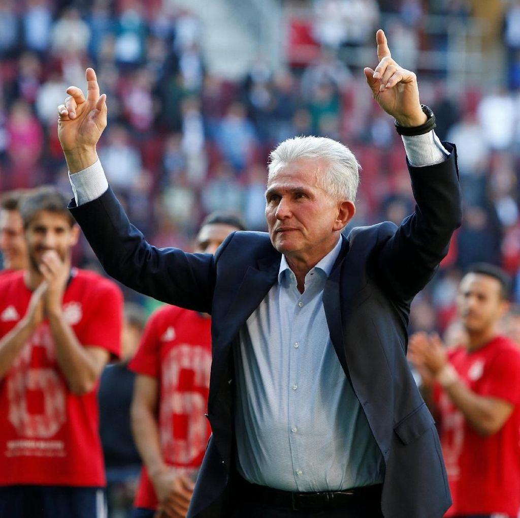 Heynckes: Titel Juara Bayern Juga untuk Ancelotti