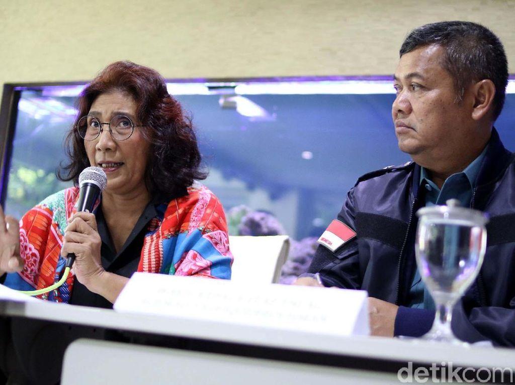 Tangkap Kapal Pencuri Ikan, Susi: Kami Tidak Kompromi