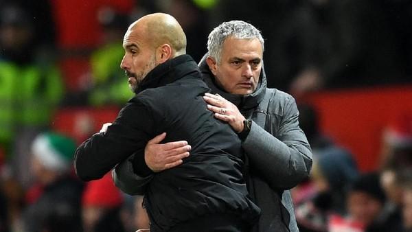 Mourinho Sebut Motivasi MU Finis Kedua, Bukan Menunda Pesta City