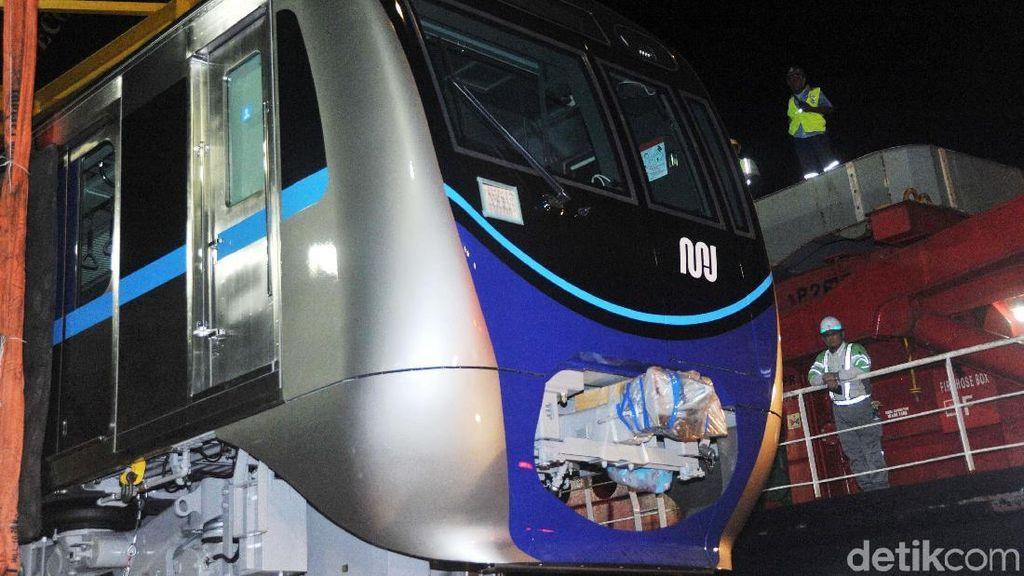 Begini Bentuk Kepala Kereta MRT