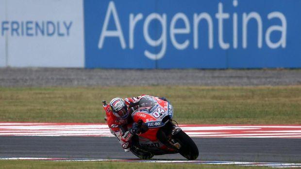Andrea Dovizioso jadi pemuncak klasemen MotoGP saat ini.