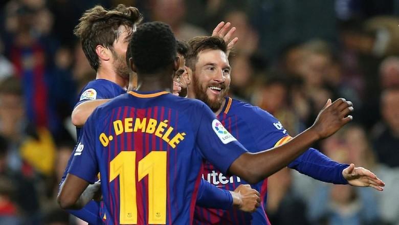38 Laga Tak Terkalahkan, Barcelona Samai Rekor La Liga