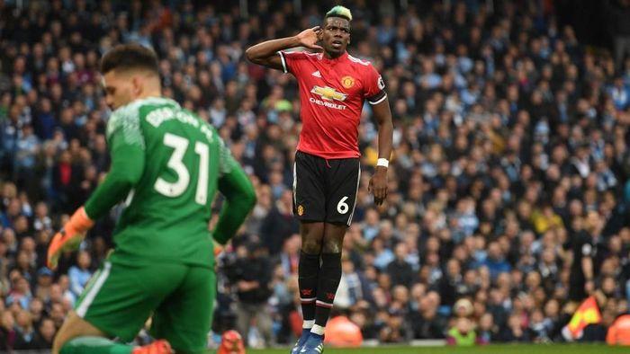 Paul Pogba bersikukuh tak memiliki masalah dengan Jose Mourinho. (Michael Regan/Getty Images)