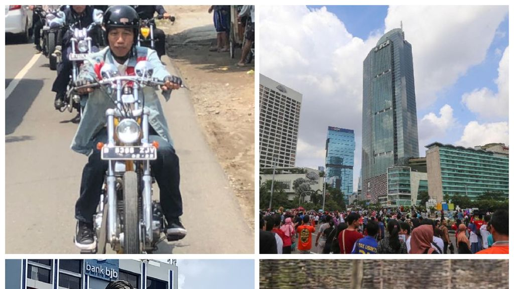 Berita Heboh: Jokowi Touring, Warga Panik di CFD Thamrin