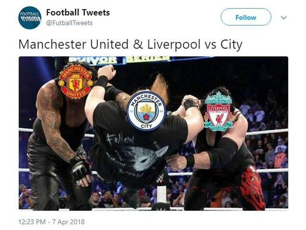 Gagal Juara, Manchester City Jadi Candaan Netizen