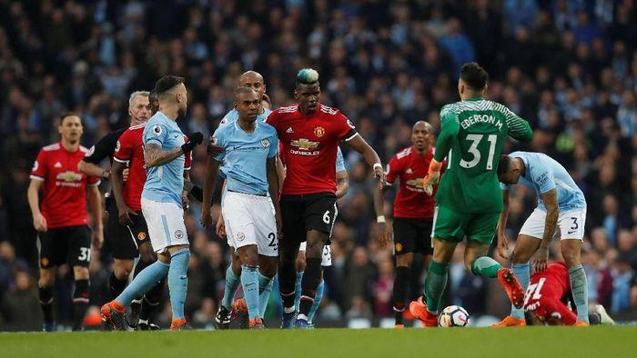 Gara-gara film dokumenter, Jose Mourinho mengkritik Manchester City (Russell Cheyne/REUTERS)