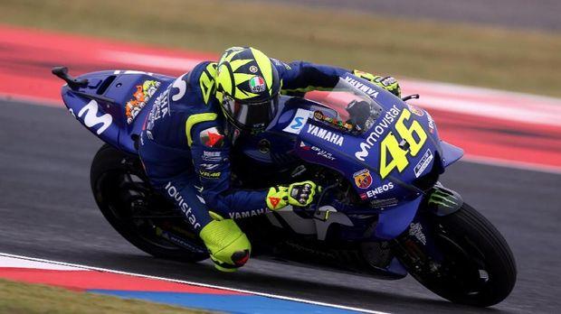 Valentino Rossi mencatat poin lebih sedikit di tiga seri awal MotoGP 2018 bila dibandingkan musim lalu.