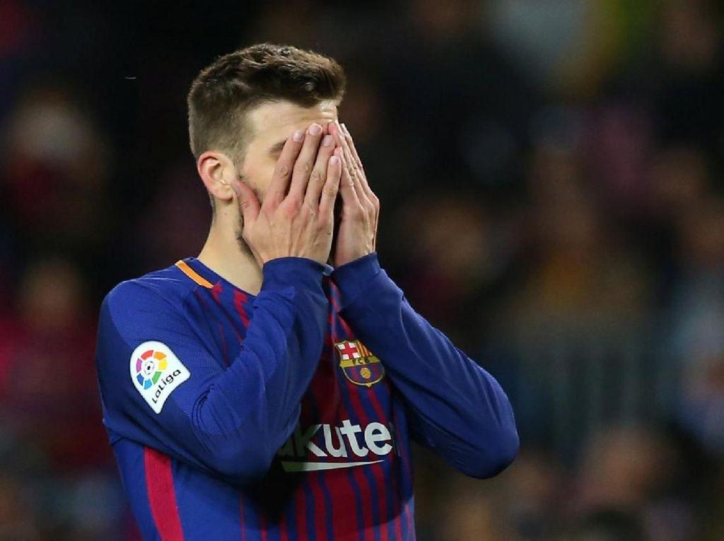 Madrid Tak Mau Beri Guard of Honor untuk Barca, Ini Respons Pique