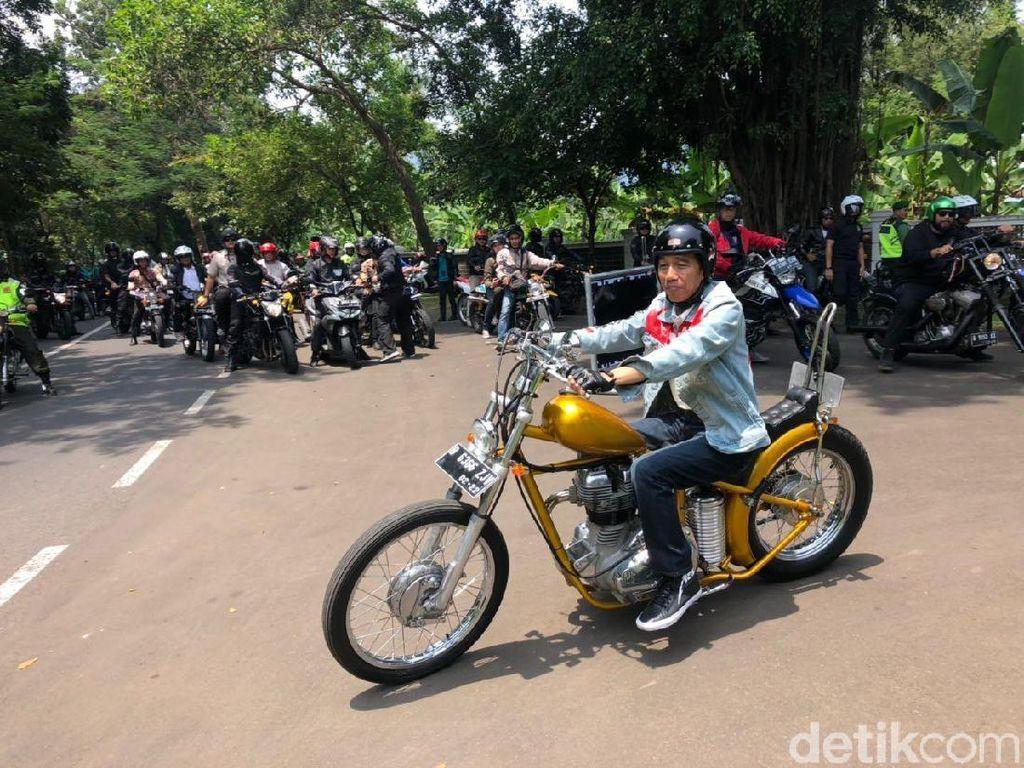 Tak Semua Motor Chopper Seperti Jokowi Legal di Jalan Raya