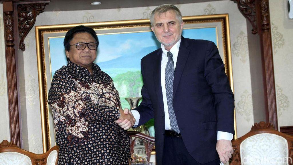 Ketua DPD Terima Kunjungan Dubes Bosnia