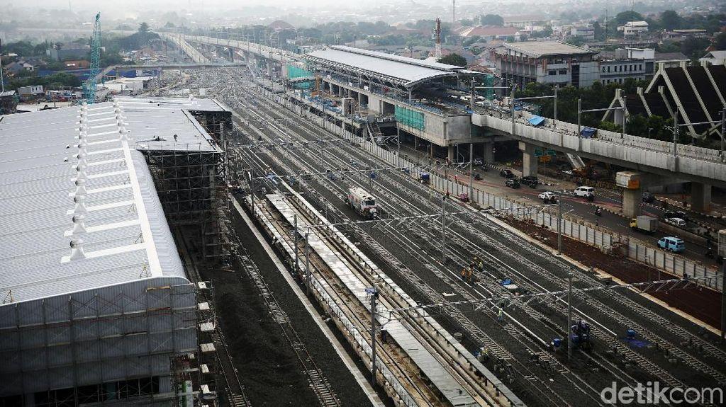 Pembangunan Depo MRT Terus Menunjukkan Kemajuan