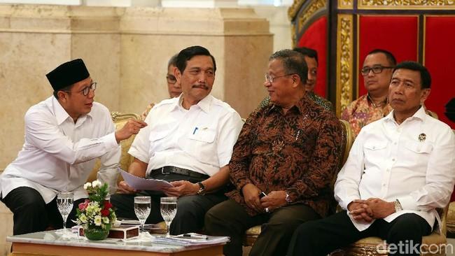 Menteri Kabinet Kerja. Foto: Rengga Sancaya