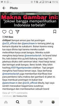 Jaket Indonesia yang Dipakai Jokowi Dihina, Gibran Sempat Emosi