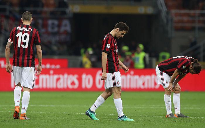 AC Milan sedang kesulitan mencetak gol. (Foto: Marco Luzzani/Getty Images)