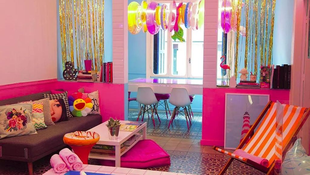 Girly Banget! Kafe Serba Pink Candyfornia Cocok Buat Pecinta Pink