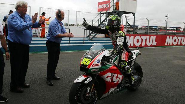 Cal Crutchlow berhasil memenangi MotoGP Argentina musim lalu.