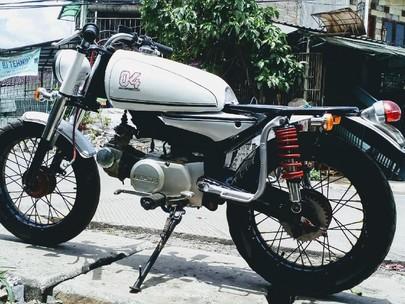 Mocin 110 cc Bergaya Cafe Racer