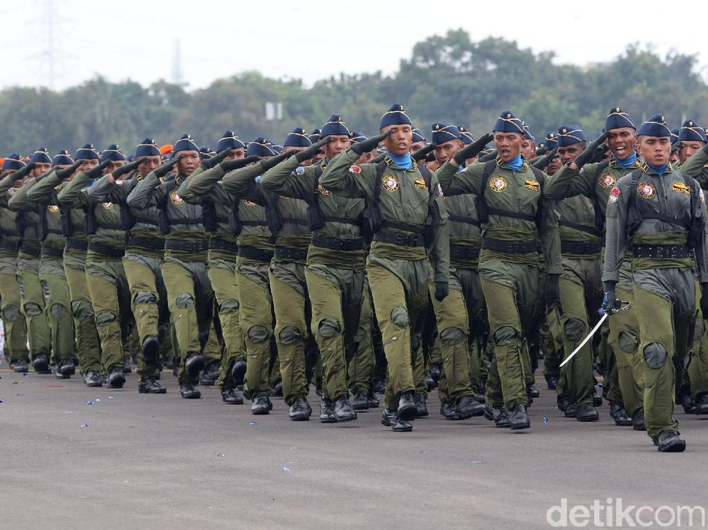 Viral Prajurit Nyanyi Sambut Habib Rizieq, TNI AU Ingatkan Aturan Bermedsos