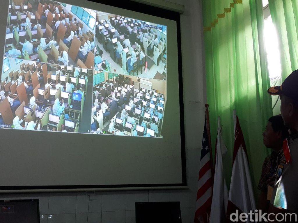Sidak Pengamanan UNBK, Polisi Siagakan Tim IT