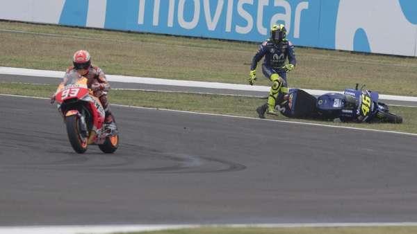 Kenny Roberts: Insiden Marquez-Rossi di Argentina Sulit Dihindari