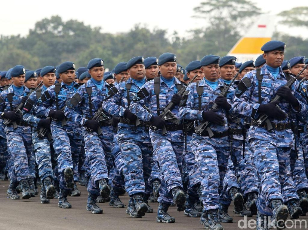Prajurit Ditahan Gegara Nyanyi Sambut Habib Rizieq, TNI AU Siapkan Hukuman