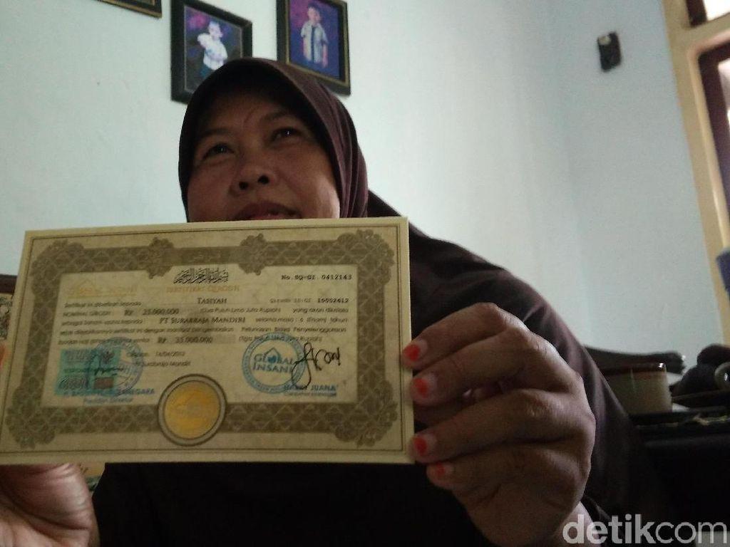 Global Insani Cirebon Tarik Investasi dari Jemaah, OJK: Ilegal