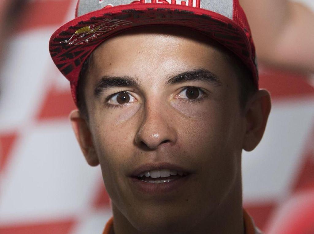 Marquez Bersikukuh Tak Berniat Bahayakan Rossi dan Pebalap Lain