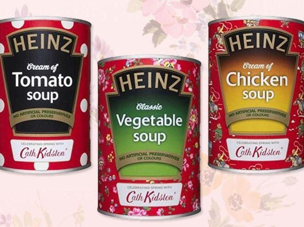 Cute! Kemasan Sup Tomat Heinz Kini Hadir dalam Desain Cath Kidston