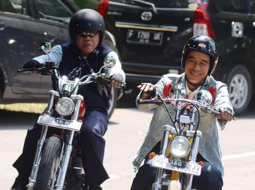 Momotoran, Gaya Basuki Kawal Jokowi ke Sukabumi