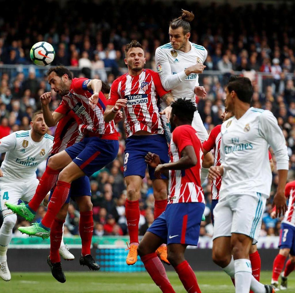 Untuk Kalahkan Madrid, Atletico Harus Main dengan Antusiasme Tinggi
