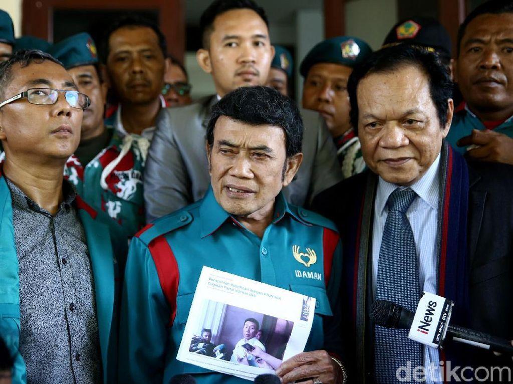 Partai Idaman Gagal Ikut Pemilu 2019, Pendukung Menangis