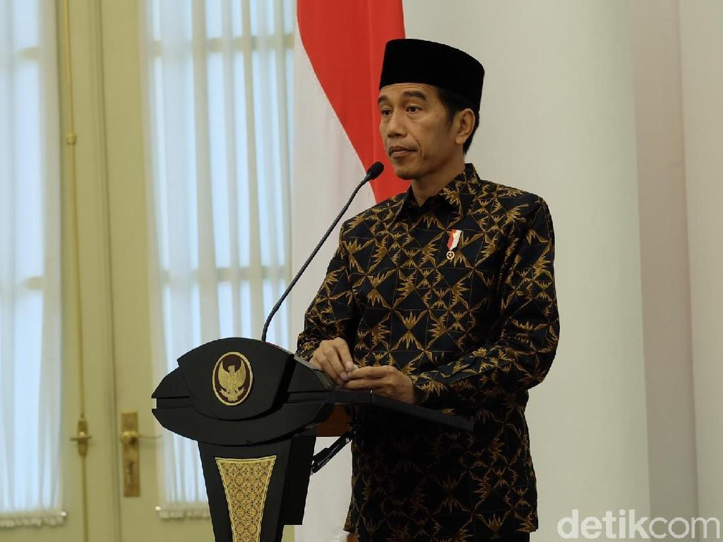 Jokowi Gelar Peringatan Isra Mikraj di Istana Bogor